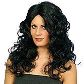 Smiffy's - Glamour Wig - Black