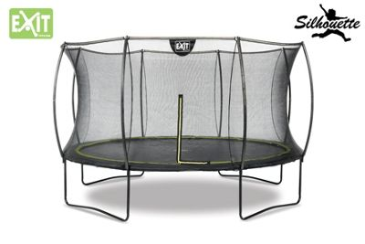 EXIT Black Edition Trampoline 14ft