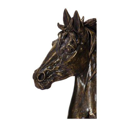 Gold Horses Head Bust