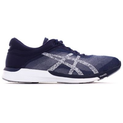 Asics FuzeX Rush Mens Running Fitness Trainer Shoe Blue - UK 9