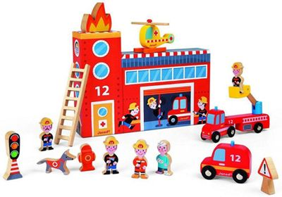 Janod Story Box Firefighters