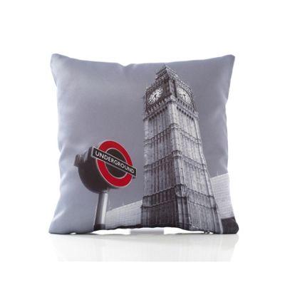 Alan Symonds Classic Underground Cushion Cover - 43x43cm