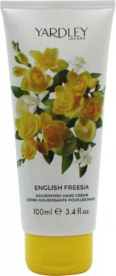 Yardley English Freesia Hand & Nail Cream 100ml