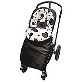 Animal Print Footmuff To Fit Britax Smart/Agile/Dual/Mobile Cow