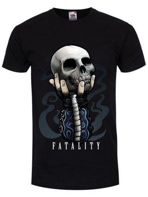 Fatality Men's T-shirt, Black.