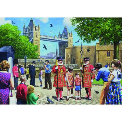 Beefeaters at the Tower - 1000pc Puzzle