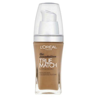 L'Oréal True Match Foundation W8 Gldn Cappuccino 30ml