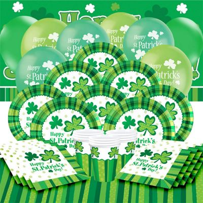 St Patrick's Cheers Party Pack - Deluxe Pack for 16