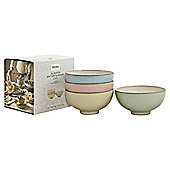 Denby Entertaining heritage mixed rice bowls 4 pack