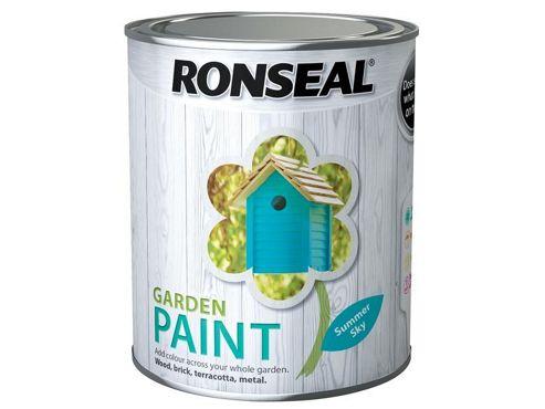 Ronseal RSLGPSS750 750 ml Garden Paint - Summer Sky