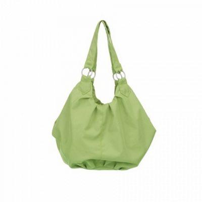 OBaby Pompom Changing Bag (Lime)