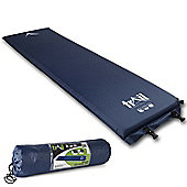 Trail 5cm Single Self-Inflating Camping Mat - Blue