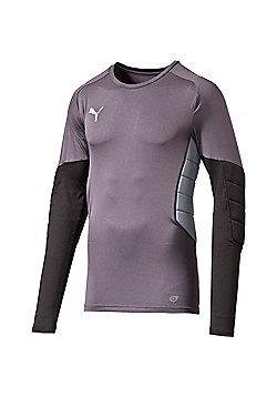 Puma Gk Tight Padded Shirt - Black