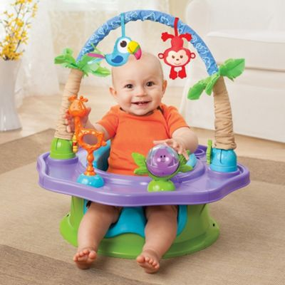 Summer Infant Deluxe Superseat (Neutral Island Giggles)