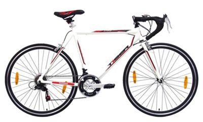 Tiger Olympus 700c 56cm Frame Road Racing Bike White