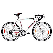 Tiger Olympus 700c 56cm Frame Road Racing Bike White