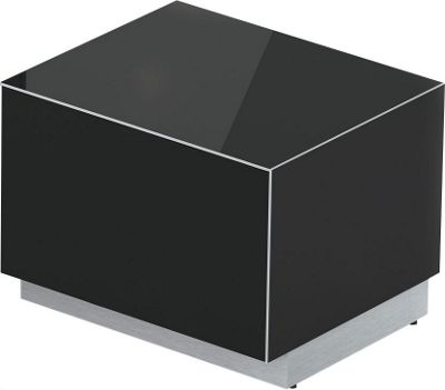 Sonorous Elements Black TV Stand for up to 27 inch TVs