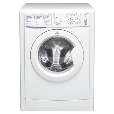 Indesit IWC61651 ECO Washing Machine , 6Kg Wash Load, 1600 RPM Spin, A+ Energy Rating, White