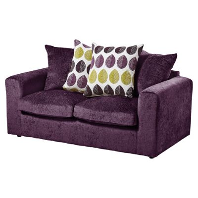 Whitton Scatterback Sofabed, Plum