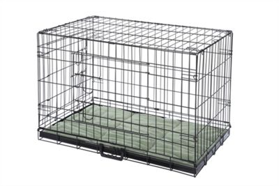 Hq Pet Dog Folding Crate With Bed Puppy Pet Carrier Training Cage 2Xl