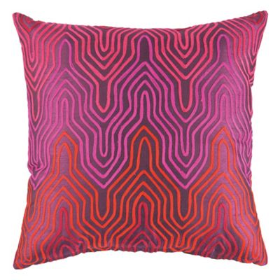 F&F Home Wave Cushion Pink/Purple