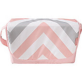 My Babiie Baby Changing Bag (Pink Chevron)
