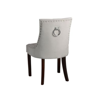 Torino Dining Chair with Back Ring - Taupe
