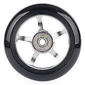 Stunt Scooter 5 Spoke ABEC9 Wheel - Metallic silver