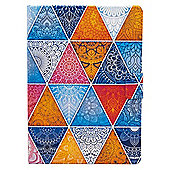 "iPad Pro 9.7"" (2016) Bright Multicoloured Geometric Mandala Cover Case - Multi"