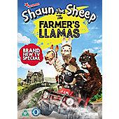 Shaun The Sheep - The Farmer's Llamas DVD