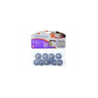 Pack Of 5 Flexible Mini Multi Purpose Latches F714 - Dreambaby