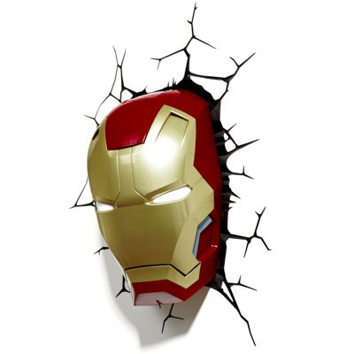 Buy marvel iron man 3d led wall light from our kids wall lights marvel iron man 3d led wall light aloadofball Images