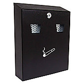Sterling Black Cigarette Bin