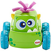 Fisher Price Press 'N Go Monster Truck Green