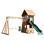 Selwood Branbury Climbing Frame - Slide, Swings & Monkey Bars