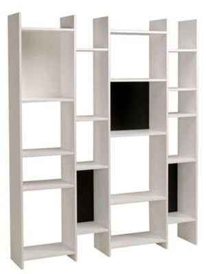 Parisot Mana Bookshelf in Megeve White