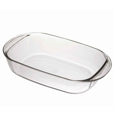 Duralex Oven Chef Rectangular Roasting Dish - Clear - 330x200mm