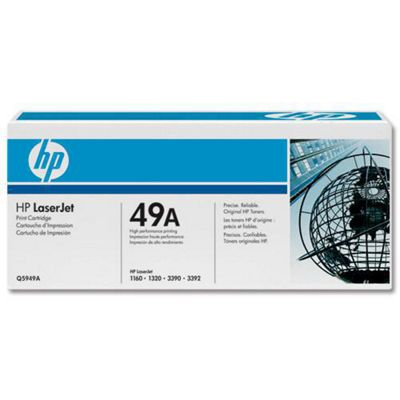 HP 49A LaserJet Toner Cartridge Black