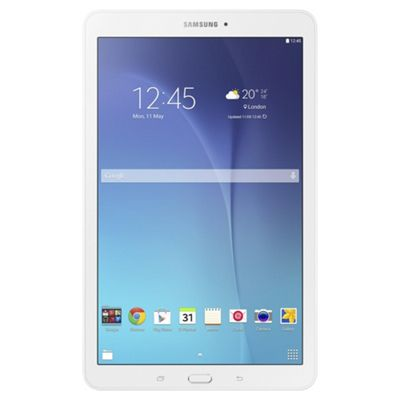 "Samsung Galaxy Tab E, 9.6"", Tablet, 8GB Wi-Fi Only - White"