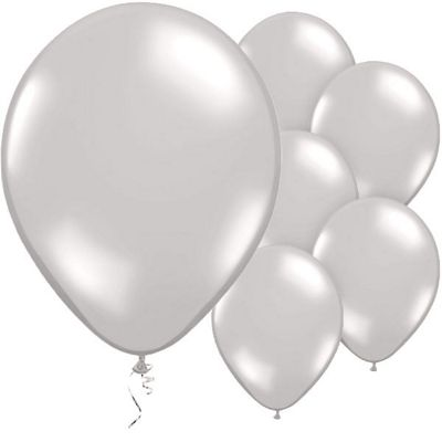 Precious Pearl 11 inch Latex Balloons - 50 Pack