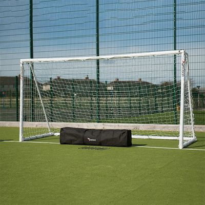 Precision Training Portable Football Soccer Goal Post (8' x 4')