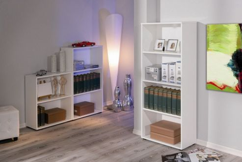 Aspect Design Arco Three Shelf Bookcase