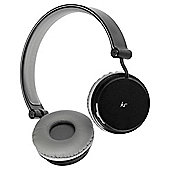 KitSound Metro Bluetooth On ear Headphones - Black