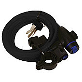 Oxford Motorcycle Bicycle MotorBike Scooter Cycle Cable Lock 1.8m X 12mm -Black
