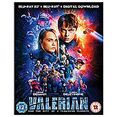 Valerian And The City Of A Thousand Planets 3D Bluray 2Disc