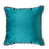 """Mallard Malia Soft Velvet Cushion 24"""""""