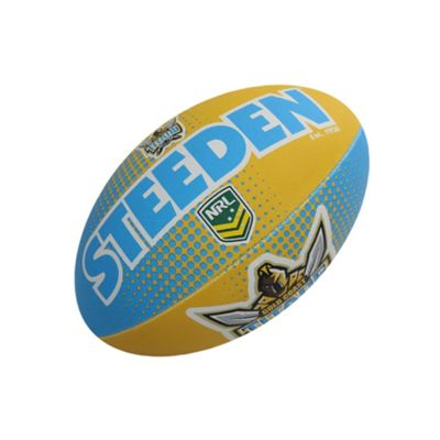 Steeden NRL Gold Coast Titans 2018 Supporter Rugby League Ball - 5