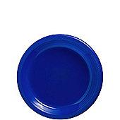 Royal Blue Dessert Plates - 17cm Plastic Party Plates - 20 Pack
