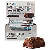 PhD Pharma Whey HT+ Bars - Chocolate Peanut