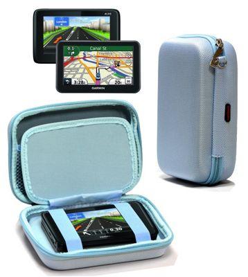 Navitech Hard Carry Case Blue For The TomTom Start 50